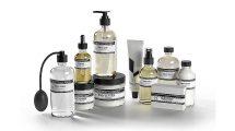 مجموعه مدل سه بعدی شیشه محصولات مایع Care For Water Products