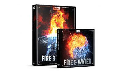 مجموعه افکت صوتی سینمایی آب و آتش Cinematic Elements Fire Water