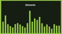 موزیک زمینه انتزاعی با افکت گلیچ Elements