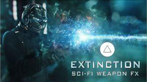 مجموعه فوتیج افکت سلاح پیشرفته Extinction Sci-Fi Weapons