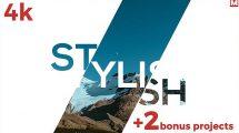 پروژه افترافکت اسلایدشو سریع Fast Dynamic Slideshow 3