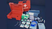 مجموعه مدل سه بعدی لوازم کمک های اولیه First Aid Kit 1