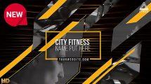 پروژه افترافکت افتتاحیه بدنسازی Future Fitness Opener