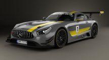 مدل سه بعدی خودروی مرسدس Mercedes AMG GT3