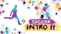 پروژه افترافکت افتتاحیه فوتبالی Soccer Intro ii