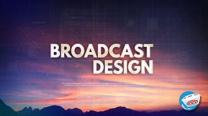 پروژه افترافکت برودکست اینترو با تایپوگرافی Technology Typography