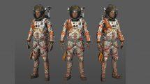 مدل سه بعدی فضانورد مریخ The Martian