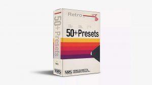 مجموعه موشن گرافیک نوار ویدیویی VHS Presets Pack
