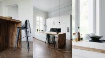 صحنه آماده سه بعدی آشپزخانه White Kitchen