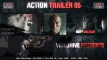 پروژه افترافکت تریلر اکشن Action Trailer 05
