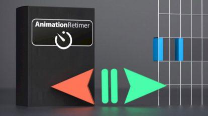 پلاگین سینمافوردی Animation Retimer ابزار تنظیم زمان بندی انیمیشن