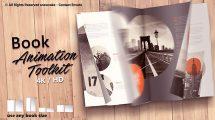 پروژه افترافکت جعبه ابزار ساخت انیمیشن برای کتاب Book Animation Toolkit