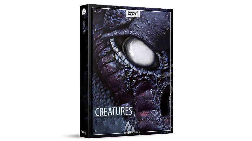 مجموعه افکت صوتی موجودات زنده Boom Library Creatures