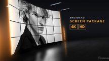 پروژه افترافکت مجموعه صفحه نمایش برودکست Broadcast Screen Package