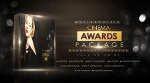 پروژه افترافکت اجزای ویدیویی مراسم جوایز Cinema Awards Package