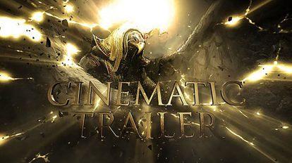 پروژه افترافکت تریلر سینمایی Cinematic Trailer 4