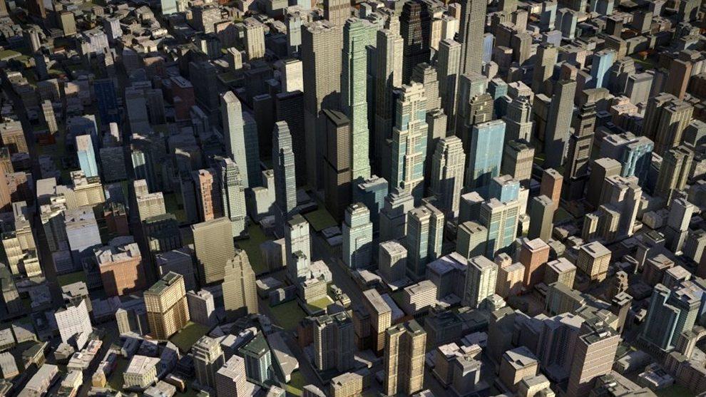 مجموعه مدل سه بعدی ساختمان های شهری City 23 Low-Poly