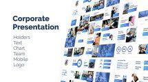 پروژه افترافکت باندل پرزنتیشن شرکتی Corporate Presentation Bundle