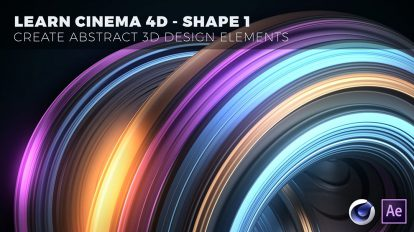 دوره آموزشی طراحی سه بعدی اجزای انتزاعی با سینمافوردی