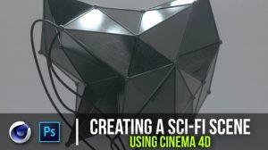 دوره آموزشی ساخت یک مجسمه سه بعدی علمی تخیلی در سینمافوردی