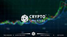 پروژه افترافکت نمایش لوگو ارز دیجیتال Crypto Trading Channel