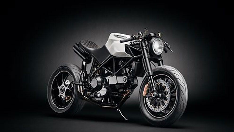 مدل سه بعدی موتورسیکلت Custom Cafe Fighter Bike