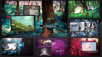 پروژه افترافکت اسلایدشو در جنگل رویایی Dreaming Forest Slideshow