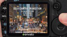 پروژه افترافکت مجموعه ترانزیشن دوربین DSLR Camera Transition