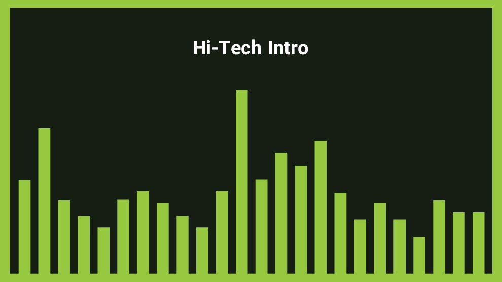 موزیک زمینه اینترو هایتک Hi-Tech Intro