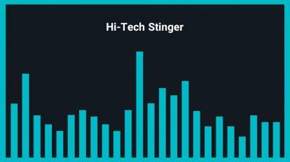 موزیک زمینه لوگو هایتک Hi-Tech Stinger