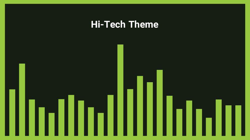 موزیک زمینه با تم هایتک Hi-Tech Theme