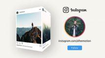 پروژه افترافکت تیزر تبلیغاتی صفحه اینستاگرام Instagram Promo