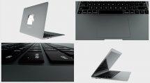 پروژه افترافکت نمایش لوگو با لپ تاپ Laptop Logo Reveal