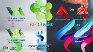 پروژه افترافکت مجموعه تیزر نمایش لوگو Logo Reveal Pack