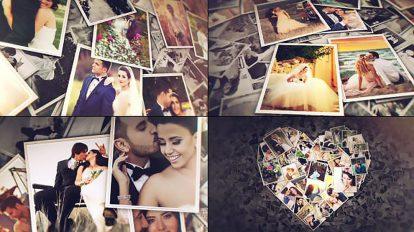 پروژه افترافکت اسلایدشو عاشقانه Lovely Slideshow