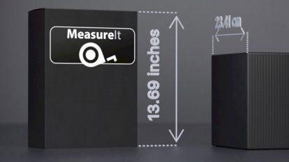 پلاگین سینمافوردی Measure It ابزار اندازه گیری فواصل آبجکت ها