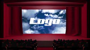 پروژه پریمیر نمایش لوگو روی پرده سینما Movie Theater Logo Reveal