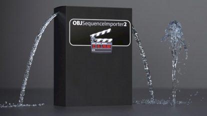 پلاگین سینمافوردی OBJ Sequence Importer ابزار وارد کردن سکانس سه بعدی