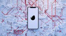 پروژه افترافکت نمایش لوگو با گوشی Phone Logo Reveal