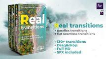 پروژه افترافکت مجموعه ترانزیشن Real Transitions