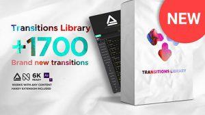 پروژه افترافکت مجموعه ترانزیشن Seamless Transitions
