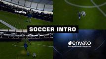 پروژه افترافکت افتتاحیه فوتبالی Soccer Intro Opener
