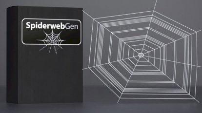 پلاگین سینمافوردی Spider Web Gen ابزار ساخت تار عنکبوت