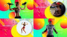 پروژه افترافکت تیزر تبلیغاتی باشگاه بدنسازی Sporty Club Fitness Promotion