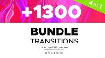 پروژه پریمیر باندل جامع ترانزیشن Transitions Bundle 4 in 1