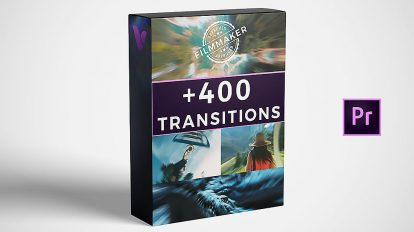 مجموعه پریست پریمیر ترانزیشن Vamify Transitions for Premiere