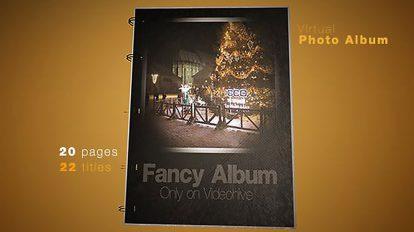 پروژه افترافکت آلبوم عکس مجازی Virtual Photo Album