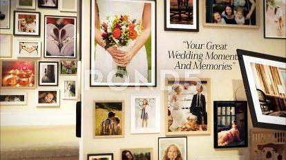 پروژه افترافکت گالری عکس عروسی Wedding and Special Events Gallery