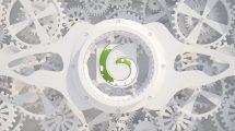 پروژه افترافکت نمایش لوگو با چرخ دنده ها White Gears Logo