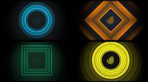 پروژه افترافکت نمایش لوگو با موج صدا Audio React Logo